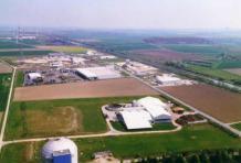 """Luftbild Industriegebiet """"Ackerköpfe""""©Gemeinde Hohenhameln"""
