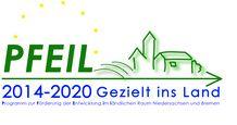 Logo Pfeil gezielt ins Land Förderprogramm©Pfeil